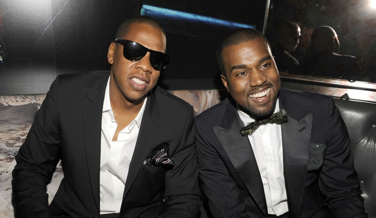 How did Jay Z and Kanye West do their branding?