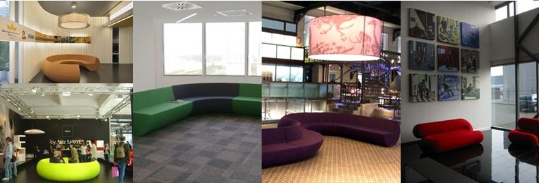 模組卻又多變的家具當代設計師Aziz Sariyer