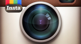Instagram_social photo sharing app on iPhone