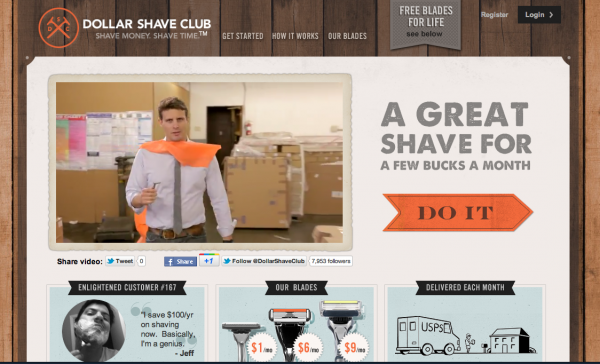 Why so serious? Put more fun into your introduction video and generate more buzz_看看DollarShaveClub.com這家專賣刮鬍刀的新創公司,如何利用社群媒體的力量創造出驚人的行銷效果