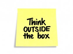 Think out of the box_Think outside the box