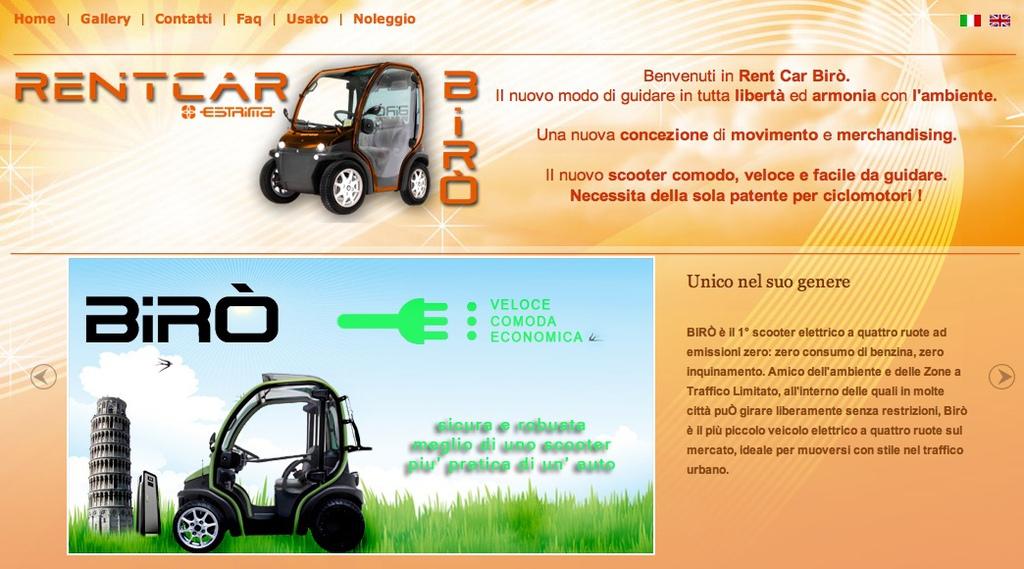義大利電動小車 Biro | Jianyou in Milan