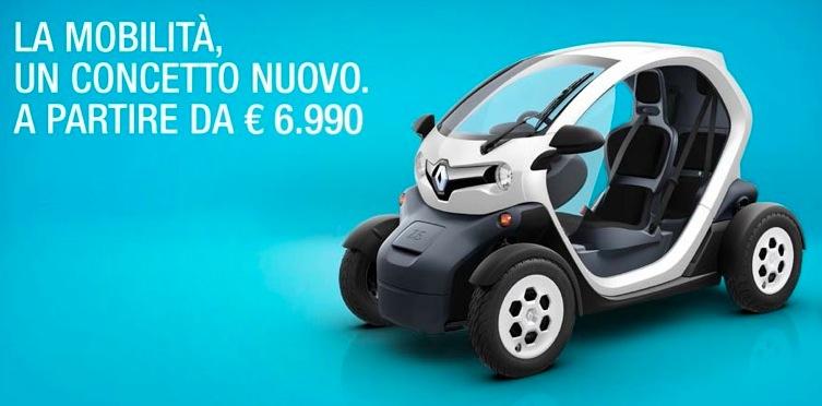 雷諾電動單人座車Twizy在米蘭 | Jianyou in Milan