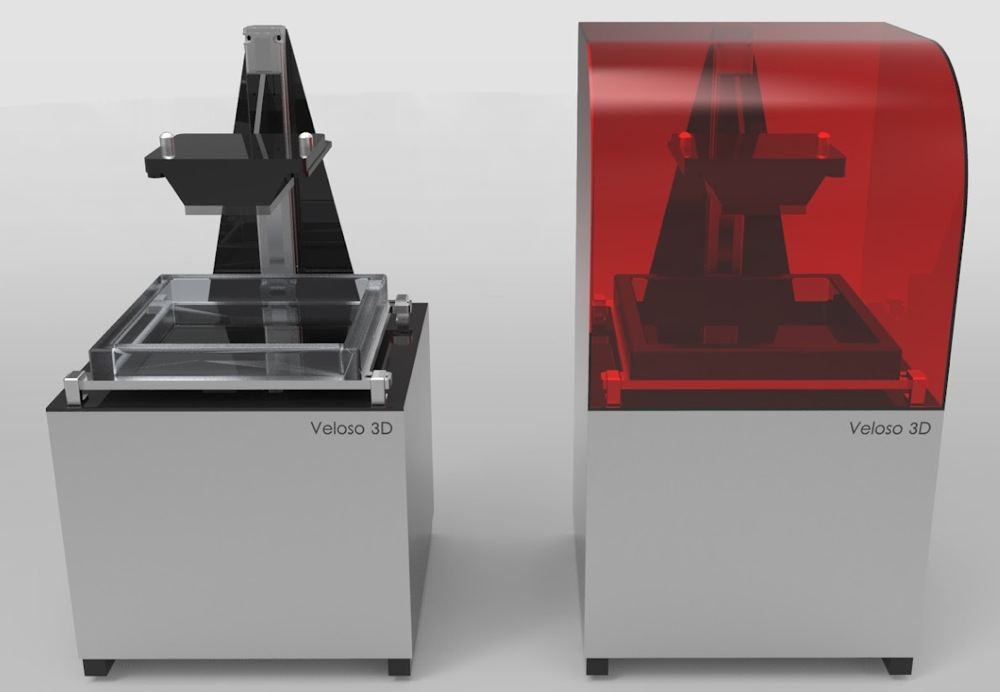 高精度UV光硬化樹脂3D列印機 Veloso 3D Printer | Jianyou in Milan