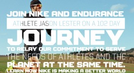 極限運動家Jason Lester在NIKE贊助下橫跨美洲 Ironman Jason Lester Crosses America for Nike