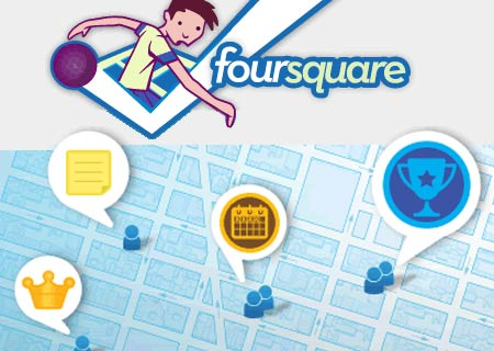 foursquare logo and picture