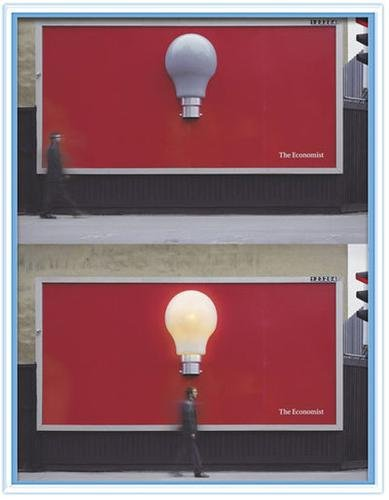 interesting AD: the economist is full of good ideas