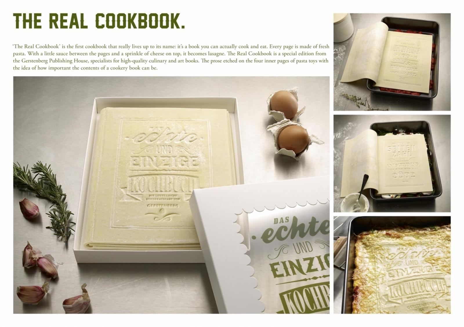 書不只能拿來看,還能拿來吃?Ad Agency Creates a Cookbook Which Can Be Eat!