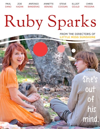 Ruby Sparks:讓粉絲自己製作電影海報'Ruby Sparks' Asks Fans to Create Posters