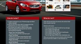 Pinterest行銷案例再添一筆-Volvo Joyride