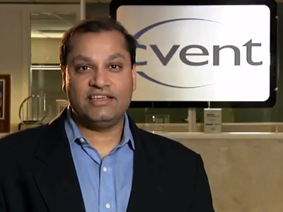 Reggie Aggarwal, founder and CEO of Cvent