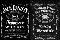 trademark dispute between Wensink & Jack Daniels