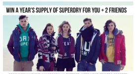 【Superdry舉辦Facebook活動-給大獎就對啦!】