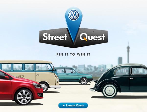 【Volkswagen最新Facebook行銷活動-Street Quest】