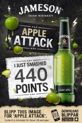 【JAMESON愛爾蘭威士忌的數位行銷-Apple Attack】