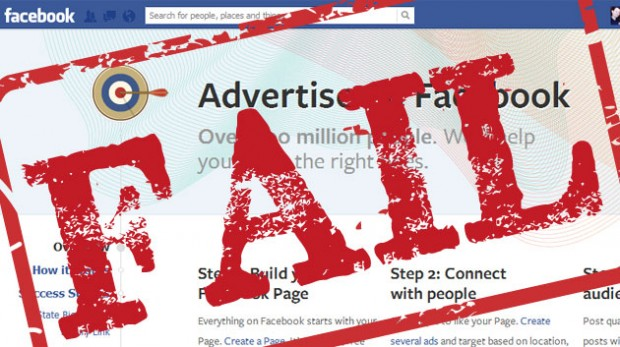 Facebook Ad Fail