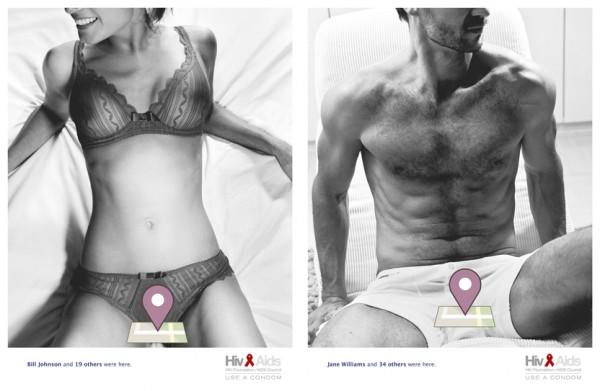 【美國愛滋病防治基金會,令人印象深刻的行銷活動】