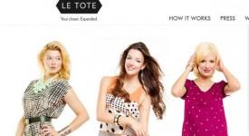 分享經濟在快時尚領域的代表:服裝租借網站Le Tote上線三月已獲得一萬名訂閲用戶,明年將推出購買服務
