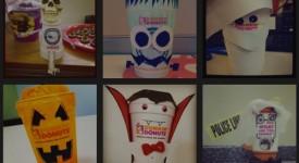 【Dunkin' Donuts的Instagram行銷活動-裝飾你的DD杯】