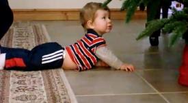 【10部小baby第一次過聖誕節的搞笑影片】