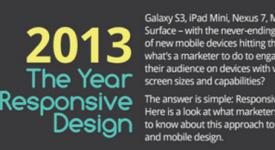 【Infographic】2013年是響應式網頁設計之年