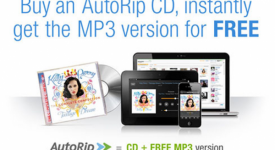 買CD送Mp3,亞馬遜的AutoRip服務狠狠的將了iTunes一軍