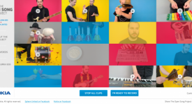 案例分享-Nokia推出個性化音樂製作網站