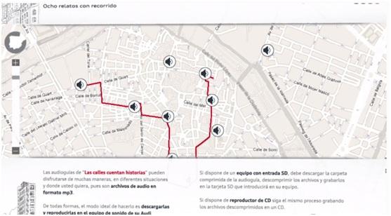 奧迪西班牙的行銷:用GPS來告訴您景點故事