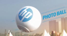 HP  PHOTOBALL 将带你进入全新体验,抓住你最自然的表情。