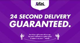 扫描条码,发送邮件就可送好友礼品,Jifiti或将崛起!?