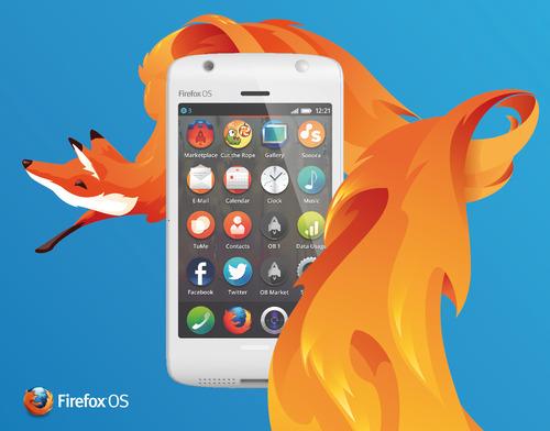 """FirefoxOS 5 火狐移動操作系統""""FireFox OS""""品牌視覺設計"""