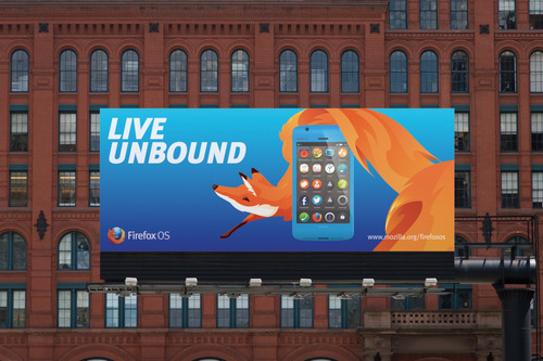 """FirefoxOS 7 火狐移動操作系統""""FireFox OS""""品牌視覺設計"""