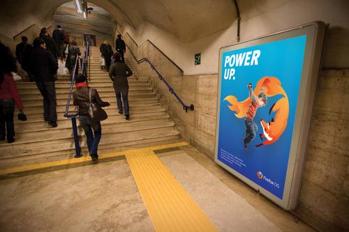 """FirefoxOS 9 火狐移動操作系統""""FireFox OS""""品牌視覺設計"""