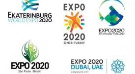 申辦2020年世博會5城市Logo一覽