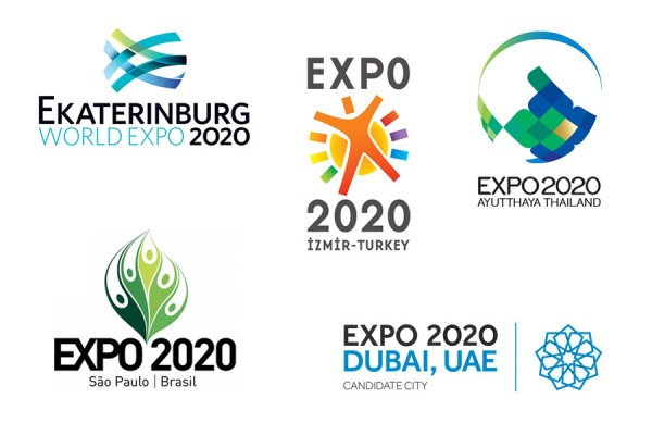 expo 2020 logos0 申辦2020年世博會5城市申辦Logo一覽