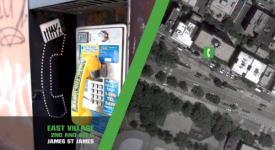 紐約新當代藝術博物館創意電話亭活動:《回到1993》