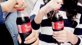 Coca-Cola行销案例,扭转瓶盖让你听得痛快。