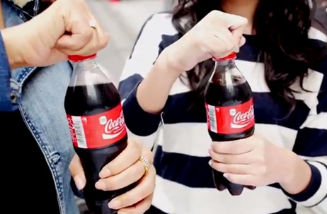 Coca-Cola行銷案例,扭轉瓶蓋讓你聽得痛快。