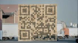 福斯汽車的QR code行銷-將巨大的水果箱QR code搬走!
