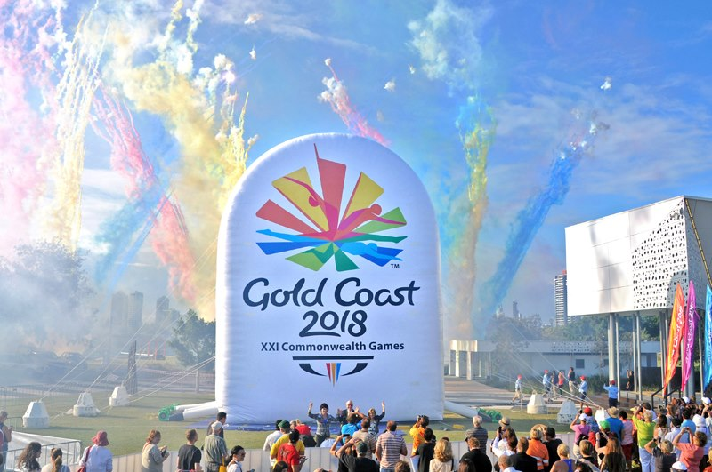xxi commonwealth games logo unveil 2018年英联邦运动会会徽公布