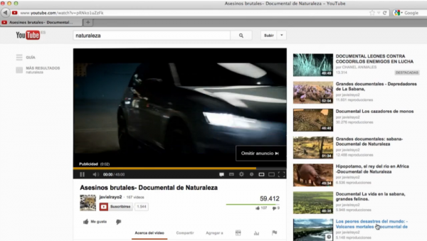 福斯汽車(Volkswagen)讓我們看見YouTube Banner廣告竟然還能這樣玩!?
