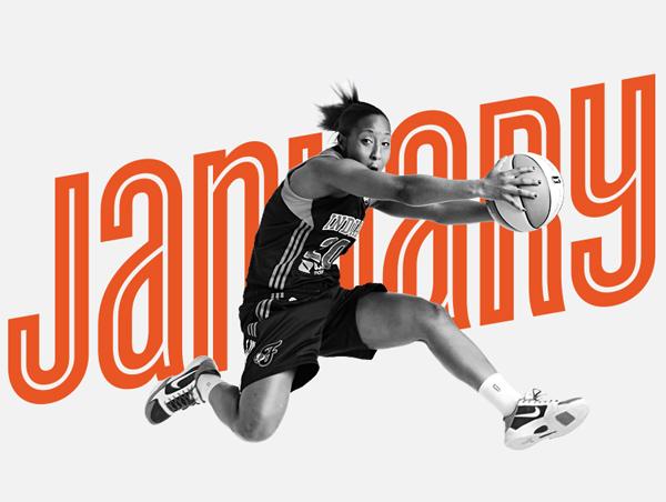 WNBA JANUARY 美国女子职业篮球赛(WNBA)发布新Logo