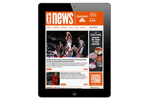 WNBA WEB IPAD GIF 032913B 美国女子职业篮球赛(WNBA)发布新Logo
