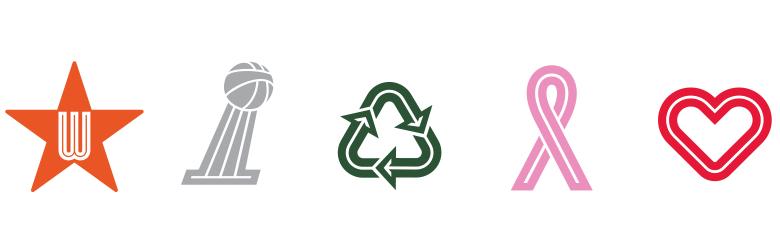 WNBA iconography 美国女子职业篮球赛(WNBA)发布新Logo
