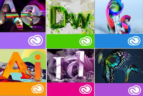 adobe cc branding 2 Adobe放棄CS套件轉向Creative Cloud雲服務品牌