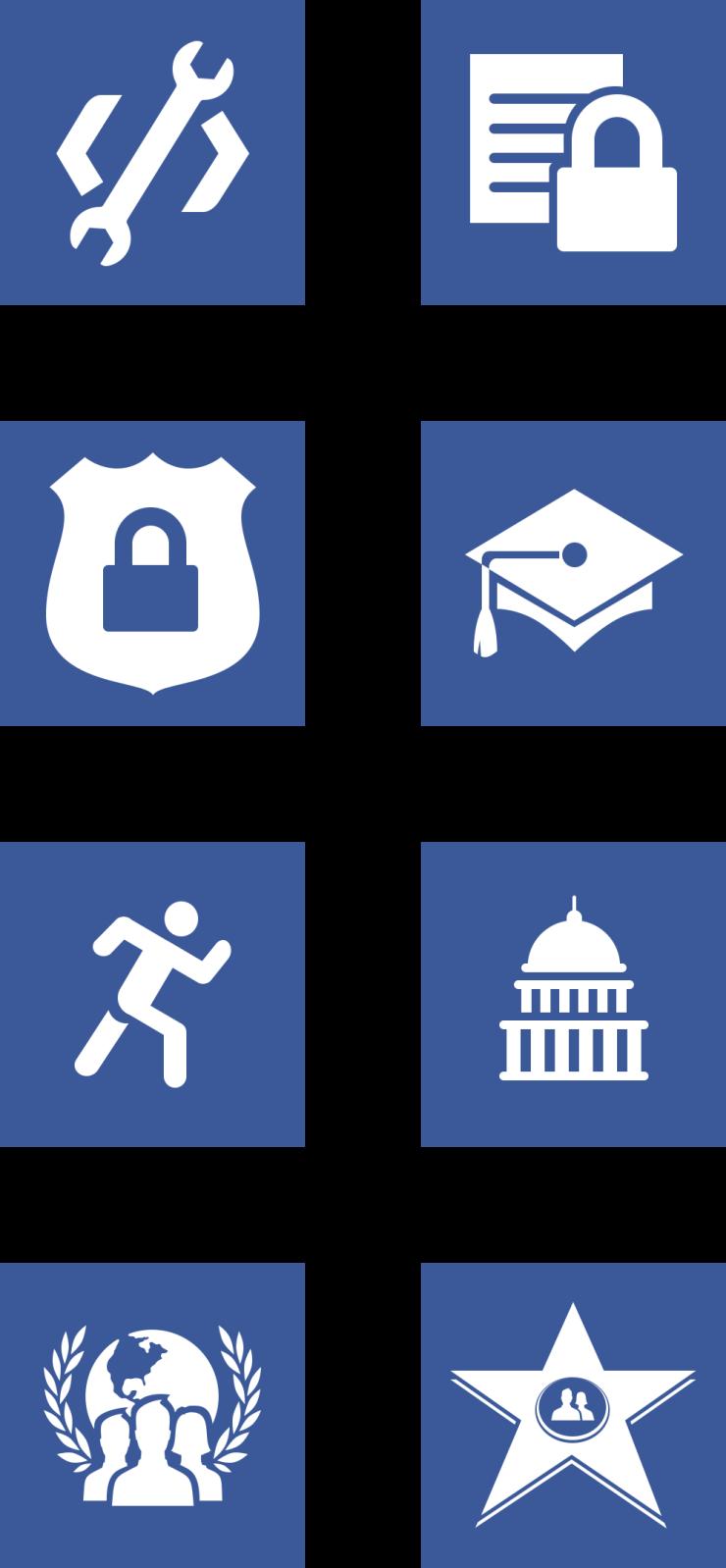 facebook icons Facebook悄然更新Logo圖標