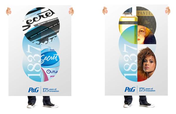 pg new logo 1 日用品巨頭寶潔公司(P&G)新品牌標識
