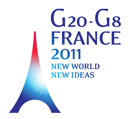 G20 G8 FRANCE 2011 2013年八國集團(G8)峰會Logo