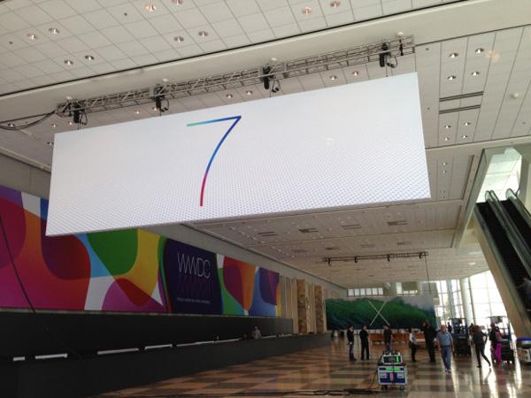 ios 7 logo 3 iOS 7與OS X 10.9新Logo現身WWDC展會