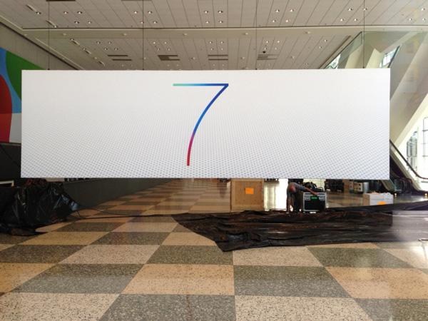 ios 7 logo 4 iOS 7與OS X 10.9新Logo現身WWDC展會